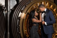 Timeless Glam Engagement Session in Cleveland, Ohio: Courtney + Christopher