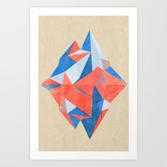 10 Pieces of Wall Art for Modern Mountaineers via Brit + Co.