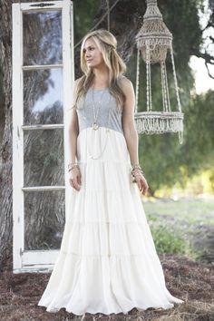 tiered-white-maxi-dress