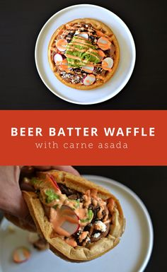 Beer Batter Waffles Recipe — Dishmaps