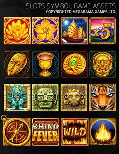2019 的 artstation - slots symbols game assets set isaiah bolima slots 主 Peter O'toole, Raku Pottery, Game Background, Pinup Art, Zootopia, Arcade Games, Game Design, Credit Cards, Game Art