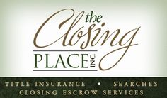 Providing reliable and thorough title searches, title insurance, and escrow and closing service to Brevard County residents for 20 years. http://www.everythingbrevard.com/RealEstate/Title/TheClosingPlace.html