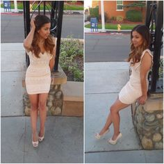 Nude Dress. Dress thrifted, Shoes Charlotte Russe www (3)