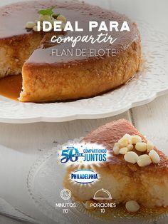 Celebra con nosotros 50 años con #Philadelphia, prepara este Flan de elote y sigamos #CompartiendoJuntos.  #recetas #receta #quesophiladelphia #philadelphia #crema #quesocrema #queso #comida #cocinar #cocinamexicana #recetasfáciles #postre #elote #flan #recetaspostres #dulce #sorpresa #fiesta
