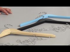 How to Create Personalized Name Hangers: Wedding DIY - YouTube
