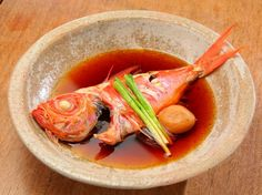 和歌山の醤油で作ったシンプルな味わい『煮魚 金目鯛』