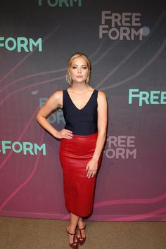 Ashley Benson at the 2016 ABC Freeform Upfront at Spring Studios in New York | April 7th, 2016