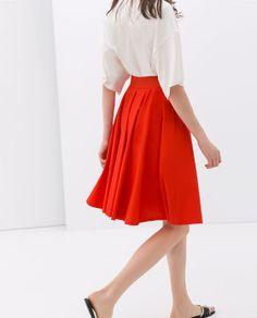 Flared Skirt - Zara