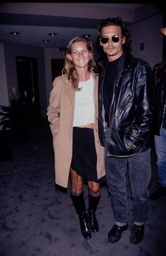Kate Moss (1994) & Johnny Depp Hit me, baby, one more time! These might be the best crop tops looks EVER