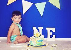 Cake Smash   Iliasis Muniz Photography The Painted Box, Cake Smash Photography, Boy cake smash, one year old