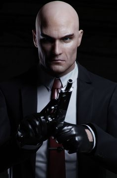 Agent 47 game characters I created for Hitman Absolution. In-game assets rendered with Mental Ray. Hitman Agent 47, Mafia, Game Character Design, 3d Character, Game Design, Design Ideas, Gi Joe, Video Game Art, Video Games