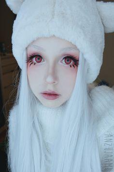 anzujaamu - Shiro Deadman Wonderland makeup