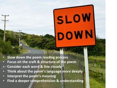 Word Line, Reading Process, Slow Down, Comprehension, Collages, Meant To Be, Poems, Language, Collage