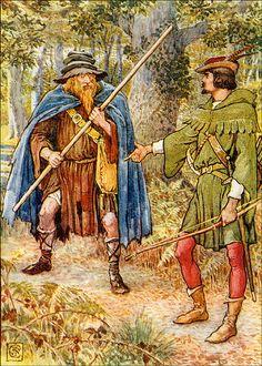 'Robin Hood' illustrated by Walter Crane