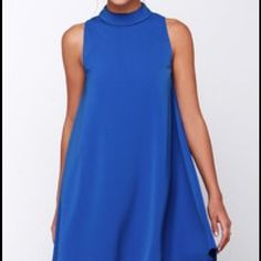 Blue Swing Dress From Lulu'S.