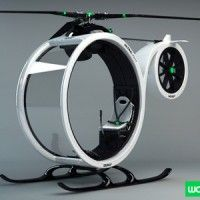 I want one! Hector del Amo// ZERO helicopter