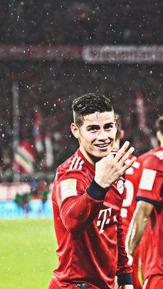 A hat trick on Best Football Players, Football Art, James Rodriguez, Tottenham Hotspur Football, Fc Bayern Munich, Soccer World, Football Wallpaper, Lionel Messi, Neymar
