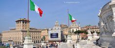 Visitare Roma, vista dal Vittoriano, l'Altare della Patria #OnlyBeFrom Rome http://www.viaggiaescopri.it/visitare-roma-like-a-local/