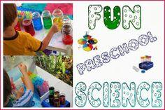FUN Preschool Science