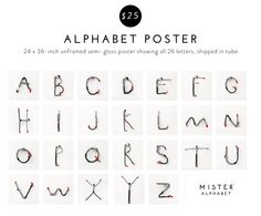 Mister Alphabet™ | A Figurine for Education, Design, & Play. by Marshall & Haley Roemen — Kickstarter