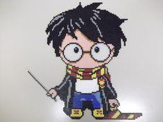 Harry Potter Hama Beads Chibi Style :) by capricornc5.deviantart.com on @DeviantArt