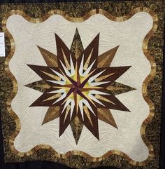 Vintage Compass, Quiltworx.com, Made by Carol Jaynes and Joan Knight