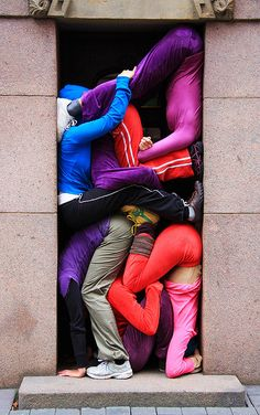 Bodies in urban spaces by Tanja Heikkilä...  Yeah, this goes against all my rules for personal space.