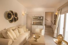 Each suite at Santorini Secret is fully equipped and decorated beautifully!