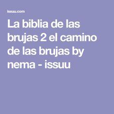 La biblia de las brujas 2 el camino de las brujas by nema - issuu