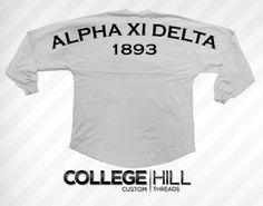 Alpha Xi Delta Oversized Jersey. Get in on the voting!  alphaxidelta  axid 225f56709
