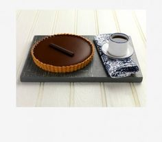 Τάρτα σοκολάτας με κρέμα λεμόνι!