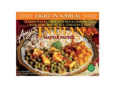 100 Cleanest Packaged Food Awards 2013: Dinner: Amy's Light-In-Sodium Indian Mattar Paneer http://www.prevention.com/food/healthy-eating-tips/100-cleanest-packaged-food-awards-2013-dinner?s=2