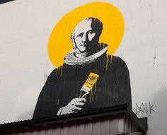 Dolk's irreverent take on holiness.