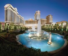 Caesars Palace (Las Vegas, NV)! One of the best hotels in Vegas! LOVE it! and the pool!