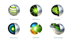 NVIDIA icons http://www.kryshiggins.com/nvidia-professional-tools/
