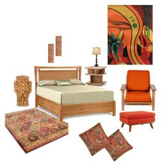 """""""Deluxe room"""" by shivika-ahuja on Polyvore featuring interior, interiors, interior design, home, home decor, interior decorating, Pine Cone Hill, Bobby Berk Home, Rove Concepts and Copeland Furniture"""