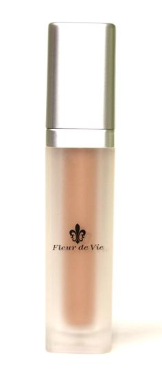 Great for summer!  Fleur de Vie Moisture Tint Foundation - sunscreen, moisturizer, and coverage all in one bottle.