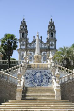 Church in Lamego, Portugal
