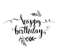 Happy Birthday Logo, Happy Birthday Hand Lettering, Happy Birthday Calligraphy, Happy Birthday Printable, Happy Brithday, Happy Birthday Wallpaper, Bff Birthday Gift, Birthday Letters, Happy Birthday Quotes