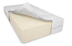 POZOR! Extra vysoká pěnová matrace Neo Komfort Standard 26 cm  CENA od 1599Kč  Extra vysoká pěnová matrace Neo Komfort Standard 26 cm Snímatelný potah. Nosnost matrace 150 kg. Typ matrace - Pěnová. Oboustranná, středně tvrdá. Jedna z nejprodávanějších matrací pro hotely. Výška matrace 26 cm. Potah je z kvalitní tkaniny, tvořený ze 3-vrstev, prošívaný, výplň sintepon 200gr/m3. Doporučená nosnost matrace je 150 kg na jedno lůžko…