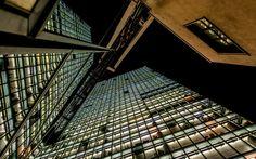 Berlin - DB-Tower II - Impression from the Potsdamer Platz in Berlin, Germany.
