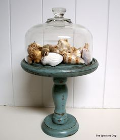 The Speckled Dog: Glazed, but Not Confused - Glazing 101 & A Glazing Link Party Glazing Furniture, Painted Furniture, Beach Furniture, Diy Furniture, Valspar Antiquing Glaze, Milk Pail, Shell Display, Painting Tips, Dresser Painting