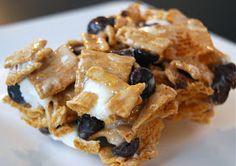 Macaroni and Cheesecake: Golden Graham S'more Bars