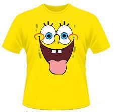 H M T Shirt With A Print 4 99 Camisas Familiares Bob Esponja Moda Para Ninas