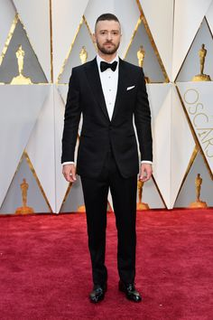 The Academy Awards 2017 Justin Timberlake in Tom Ford