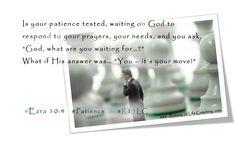 Romans 15 Life Coaching: A Week of Patience - Ezra 10:4