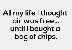 Bag of Fresh Air?