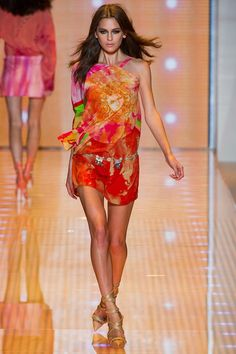 Versace SS 2013/ Orange