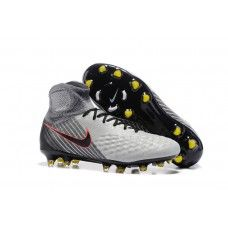 on sale ae0c4 30ea6 Nike Magista Obra II FG Soccer Cleats - Grey Black Red Volt Online Store