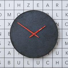 Betonové hodiny nástěnné - Clockies 1705